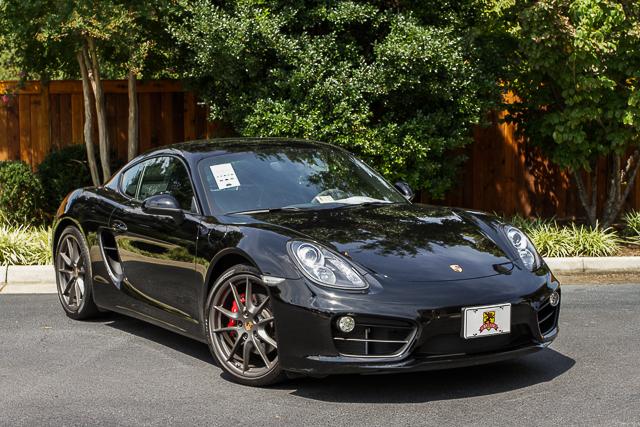 Porsche Cayman S | Black