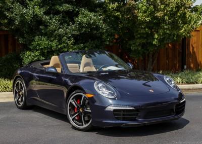 Porsche Carrera S Cabriolet | Blue