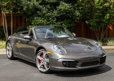Porsche Carrera 4S Cabriolet | Grey