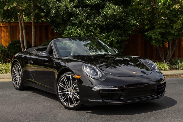 Porsche Carrera Cabriolet Black Edition | Black