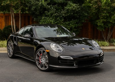 Porsche 911 Turbo | Black